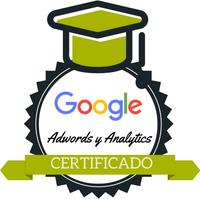 Certificación oficial de Google Analytics y Adwords