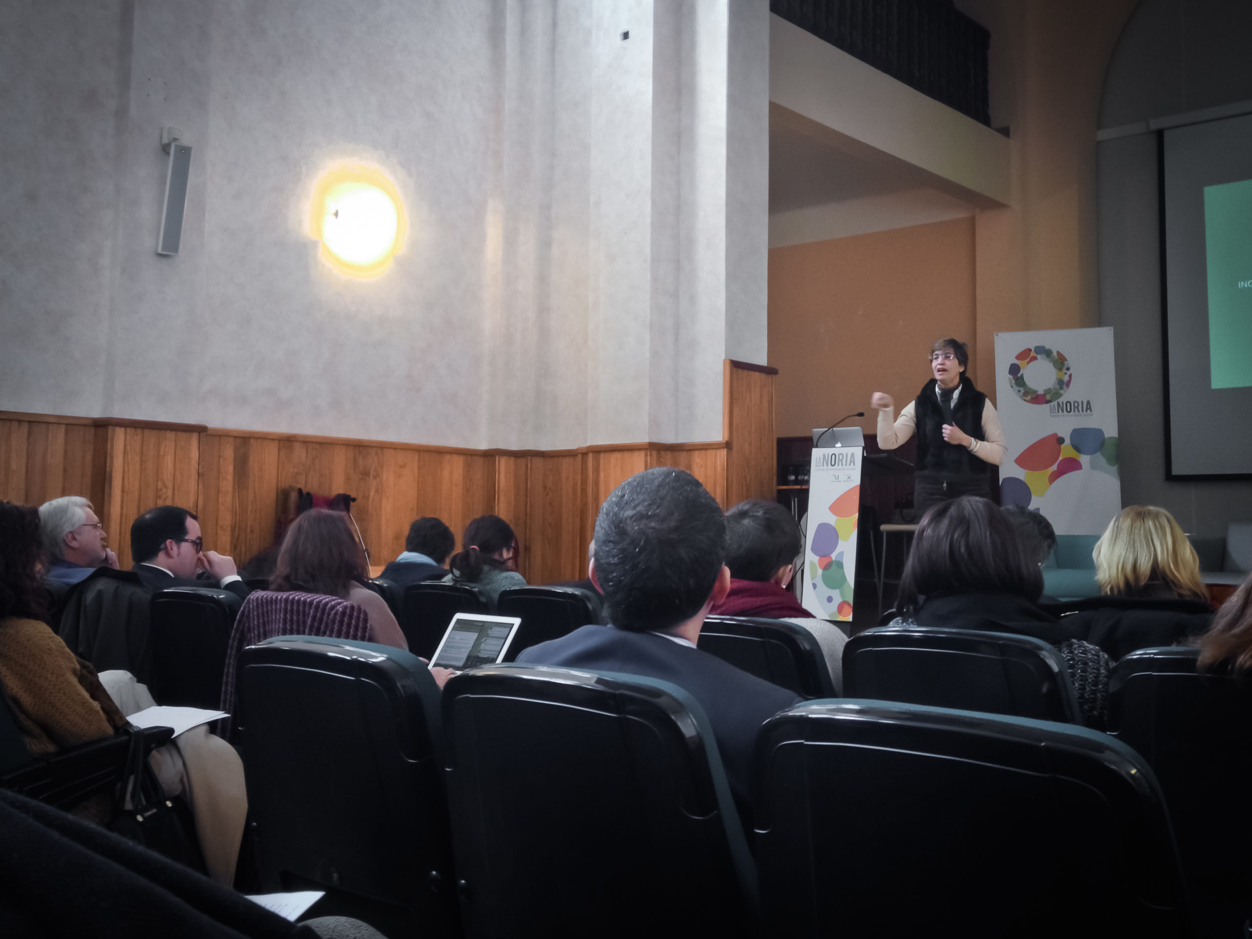 Maria Do Carmo, head of the Consortium - Initiative for the Civic Economy Portugal.