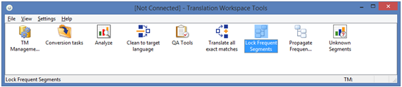 Translation Workspace - XLIFF Editor