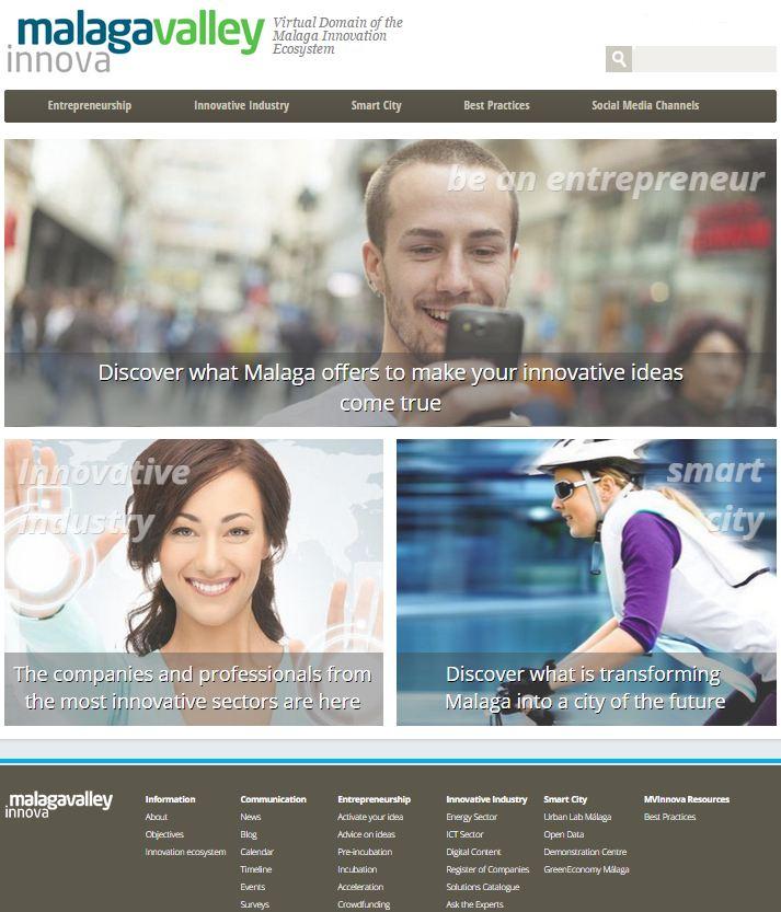 Malaga Valley Innova Portal