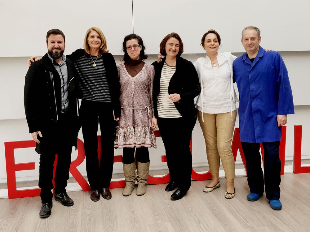 Interpreting team of Nóvalo for Ceregumil event