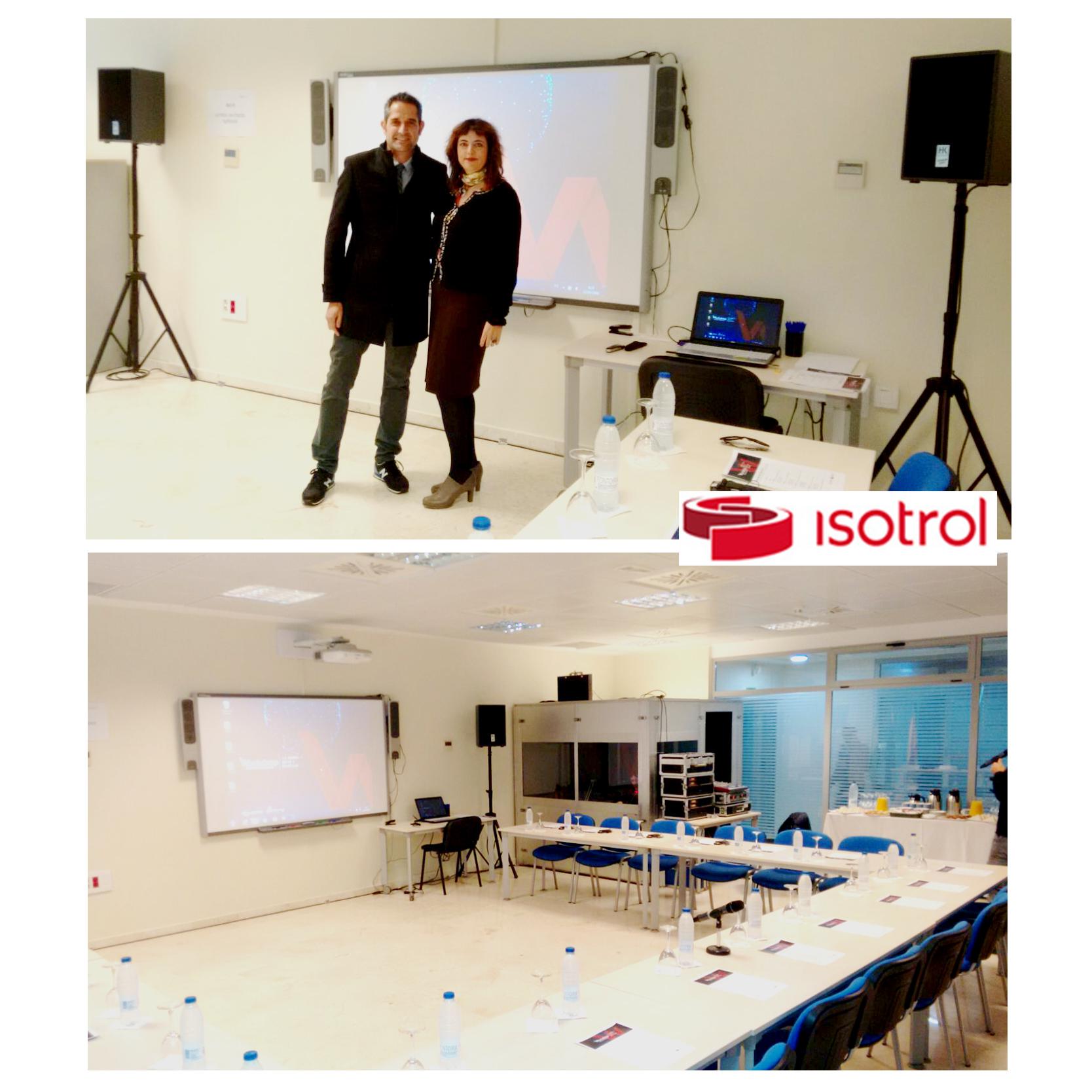 Novalo team at Isotrol in Seville.