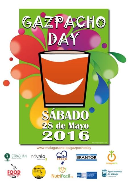 Cartel promocional del Gazpacho Day 2016