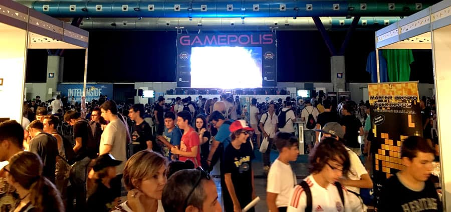 Nóvalo en Gamepolis 2016