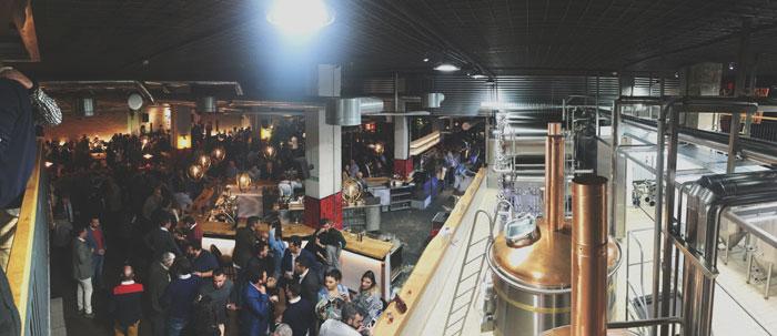 Inauguración de La Fábrica de Cruzcampo