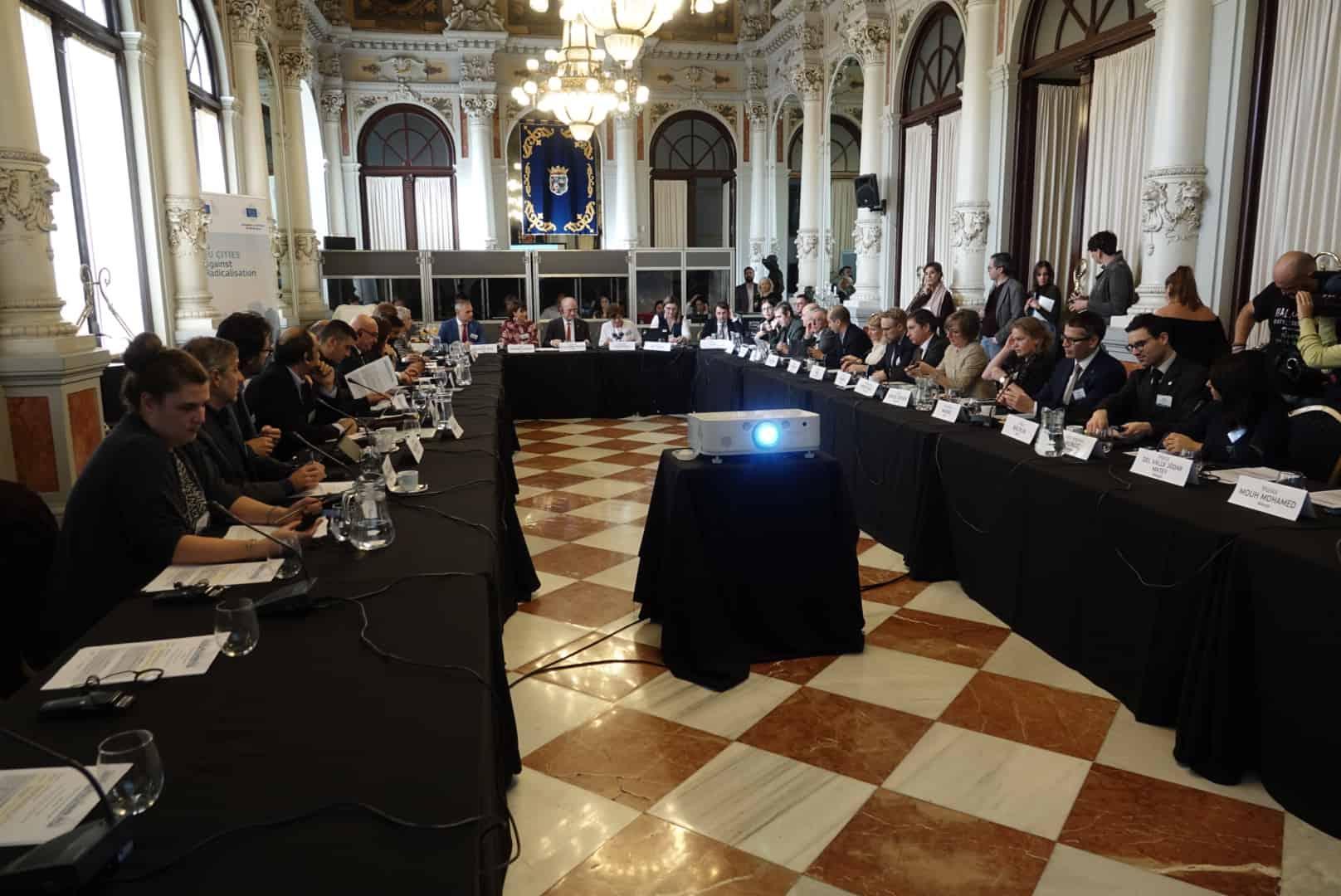 Segunda Reunión de ciudades europeas contra la radicalización