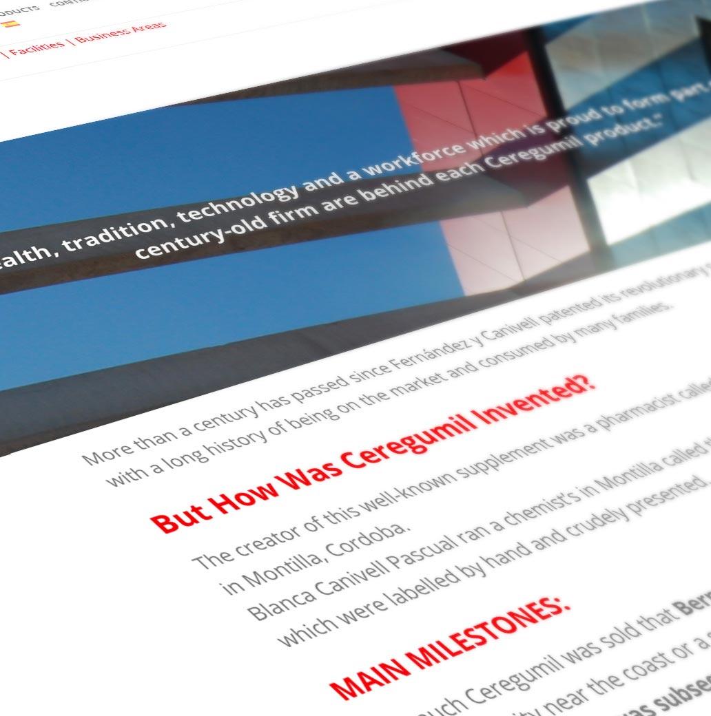 Localización web Ceregumil