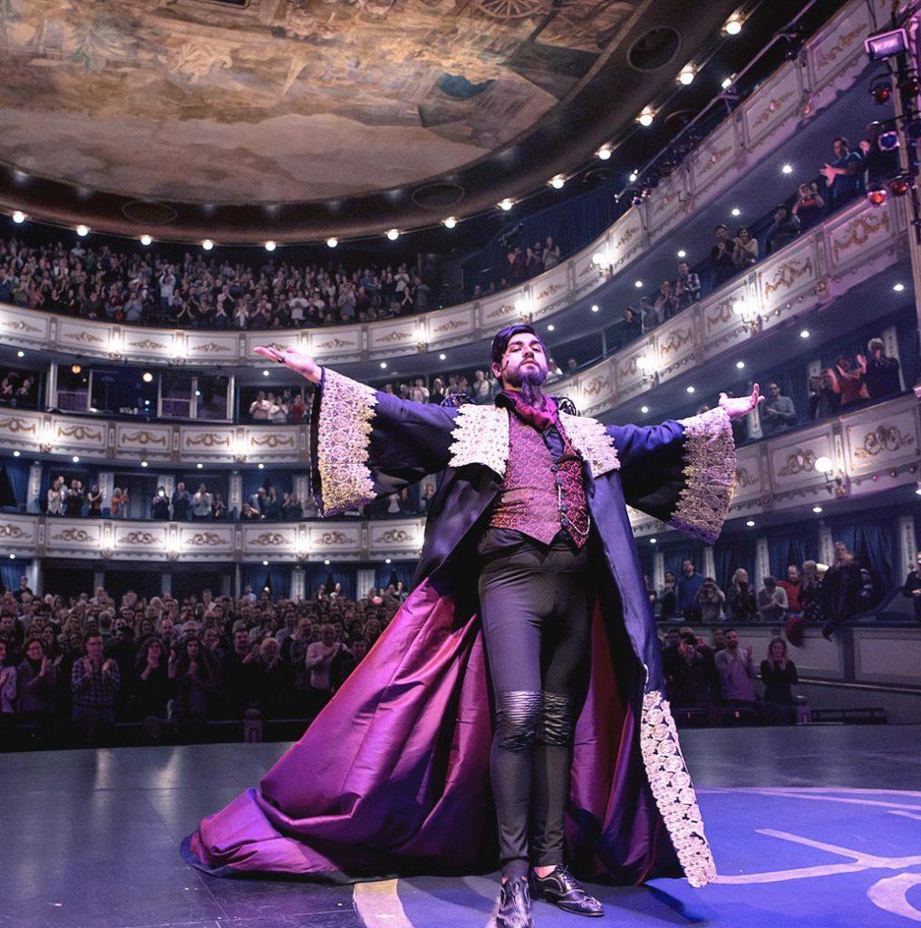 Localización web Teatro Cervantes y Echegaray