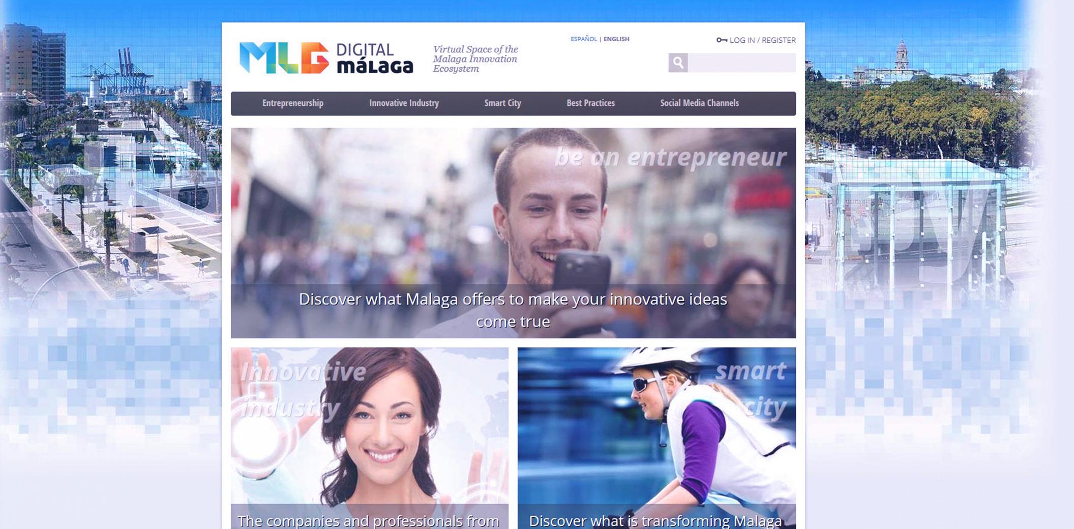 Localización web Ayuntamiento de Málaga