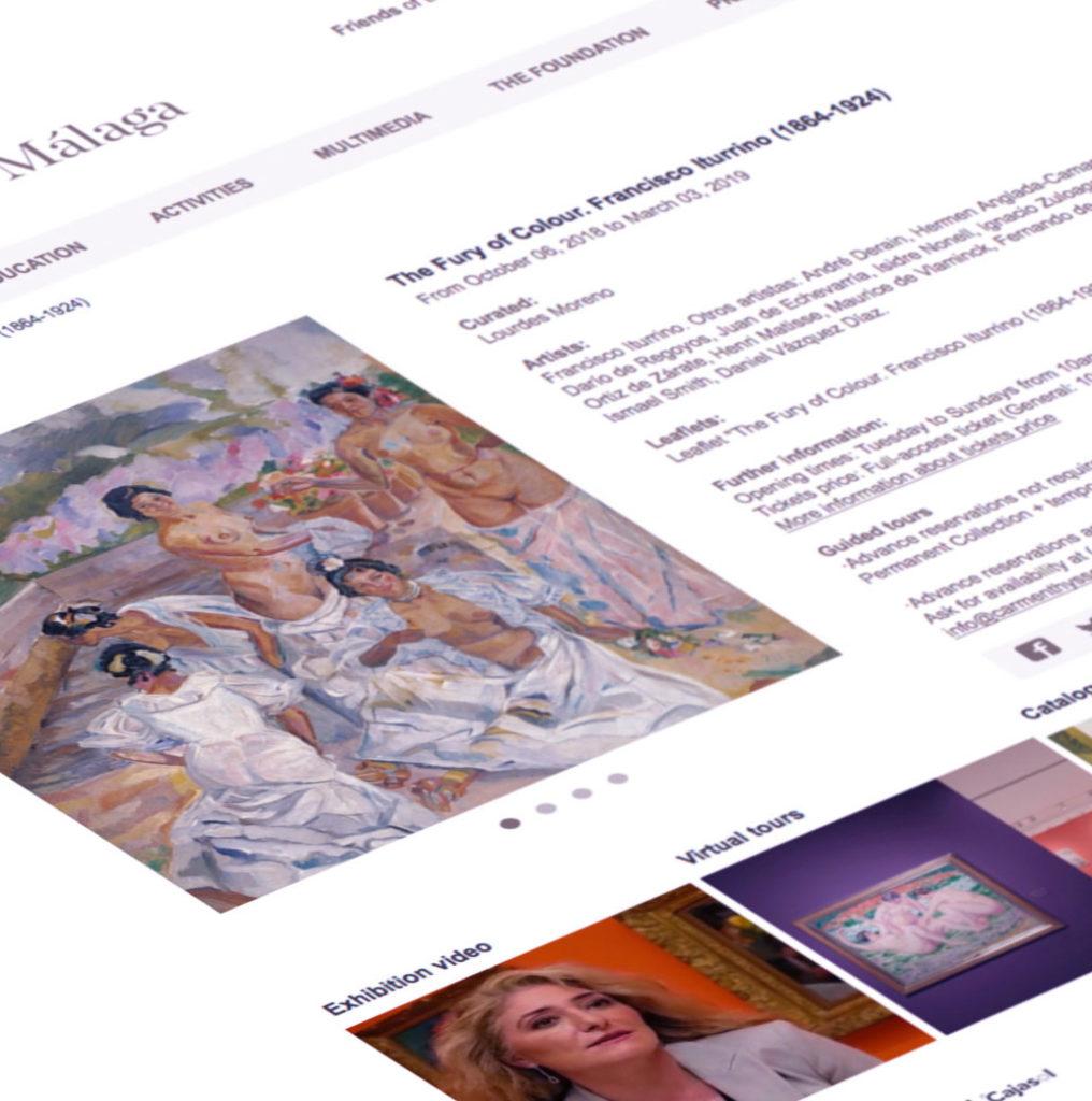 Localización web Museo Thyssen